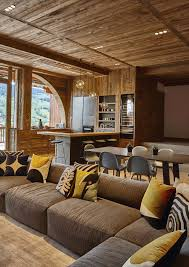 wood home interiors modernity wrapped in a cloak of wood home renovation in megève