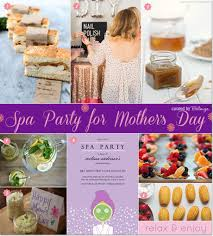 how to throw a spa party for mother u0027s day