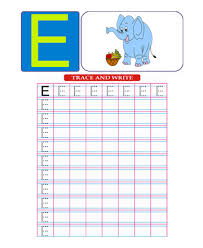 printable capital letter e coloring worksheets free online