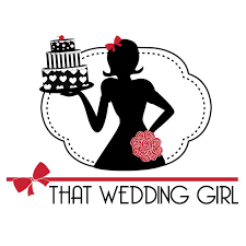 wedding cake logo that wedding girl floral and cake design crummy media solutions