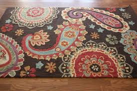 Paisley Area Rugs Excellent Blue Area Rugs As Walmart For Best Paisley In Rug With