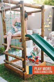 build jungle gym in backyard hill google search outdoor