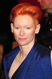 red hair for over 50 tilda swinton s short hairstyle haute hairstyles for women over