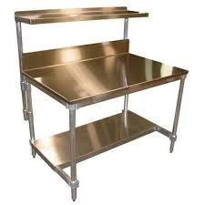 Commercial Prep Table Kitchen Prep Table Shelving Unit Butcher Block Commercial