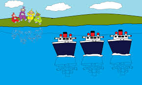 the three ships teletubbies wiki fandom powered by wikia