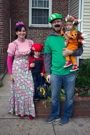 Super Mario Family Halloween Costumes Halloween U2013 It U0027s A Powers Full Life