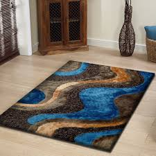 how big should my area rug be amazon com hand made soft u0026 fuzzy blue shag area rug runner