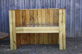 Wooden Pallet Bench Reclaimed Beefy Pallet Wood Bench Pallet Furniture Diy