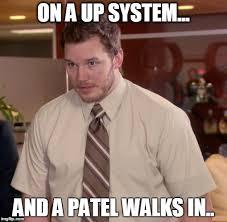 Patel Meme - afraid to ask andy memes imgflip