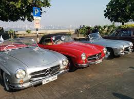lexus india mumbai classic mercs wow mumbai autocar india