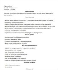 Sample Resume For Experienced Hr Executive by Sample Hr Executive Resume 7 Examples In Word Pdf
