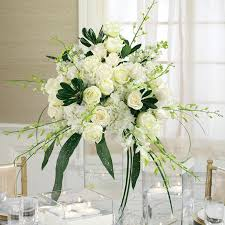 white flower centerpieces flower arrangements for weddings gorgeous white flower