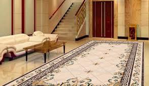 brown l shades table ls living room carpet designs black sofa pillow green grass plants