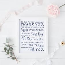 printable navy wedding thank you sign navy wedding thank you