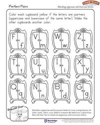perfect pairs u2013 english worksheet on uppercase and lowercase