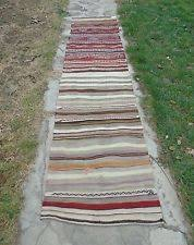 Striped Runner Rug Kilim Striped Runner Rugs Ebay