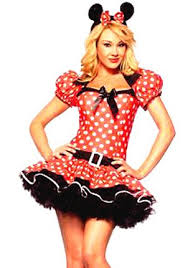 Ladies Halloween Costumes Uk Young Ladies Minnie Mouse Fancy Dress Costume Mouse