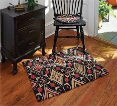 Country Hooked Rugs Country Primitive Braided Rugs Jute Cotton Ultra Durable Rag