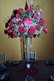 Tall Glass Vase Flower Arrangement 129 Best Wedding Centerpieces Images On Pinterest Wedding