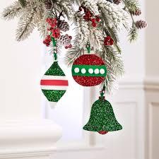 kids u0027 glittered foam ornaments