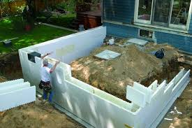 R Value Insulation For Basement Walls by Insulated Concrete Forms Greenbuildingadvisor Com