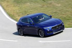 blue maserati 4 door 2017 maserati levante first drive review motor trend