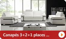 ensemble canapé 3 2 pas cher canapé pas cher canapés et mobilier design à petit prix