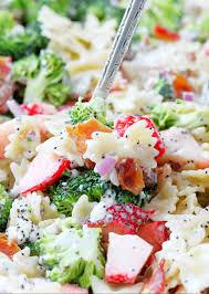 summer broccoli pasta salad foodtastic mom