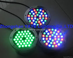 1w 36w led swimming pool light rgb led light l with