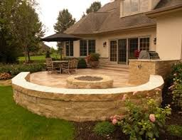 Small Firepit Pit Pictures Gallery Landscaping Network
