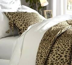 Leopard Print Duvet Animal Print Duvet Covers King Size Leopard Print Duvet Set Single