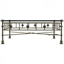 Metal Glass Coffee Table Wrought Iron And Glass Coffee Tables Foter