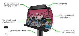 charging station phone shark tank mobile phone charging station chargetech
