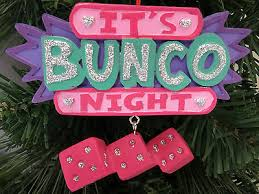 it s bunco ornament let the times roll new
