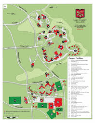 Illinois Road Map by Campus Map About Us Lake Forest College
