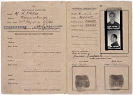 pasquale dogao pow identity card 1943 inside mitchell library