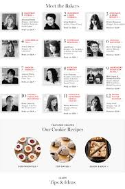williams sonoma recipes thanksgiving holiday cookie recipes and baked goods williams sonoma