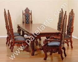 Teak Wood Dining Tables Wooden Dining Table Set Designs Interiors Design