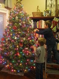 christmas tree with colored lights christmas trees with colored lights decorating ideas christmas
