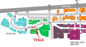 Shopping Mall Floor Plan Pdf Tesla To Open First West Coast Mall Store