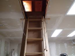 installing attic access stairs attached images the seal n
