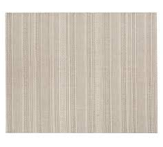 Indoor Outdoor Rug Synthetic Indoor Outdoor Rug Bleached Pottery Barn
