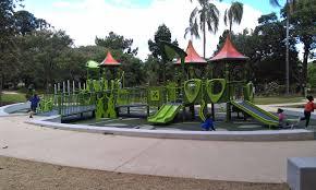 City Botanic Gardens With In Brisbane Brisbane City Botanic Garden Playground