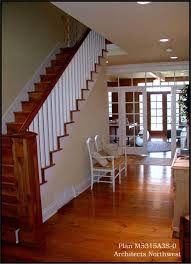 Foyer Of A House Classic Comfort A Spectacular Farmhouse Style Home Design