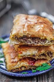 The Mediterranean Vegan Kitchen - phyllo meat pie recipe the mediterranean dish