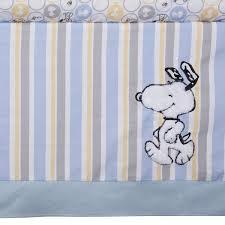 Snoopy Crib Bedding Lambs My Snoopy 4 Crib Bedding Set Ideal Baby