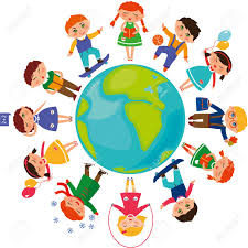 children around the world royalty free cliparts vectors and
