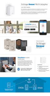 schlage sense wi fi adapter br400 home depot
