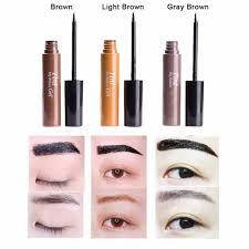 aliexpress com buy 2016 new light brown colors peel off eyebrow