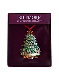 tree with biltmore house ornament